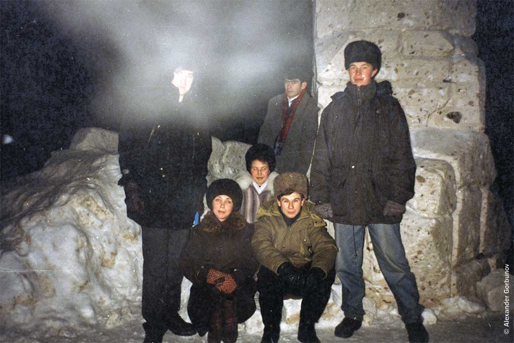 Залив Чебоксары 1997