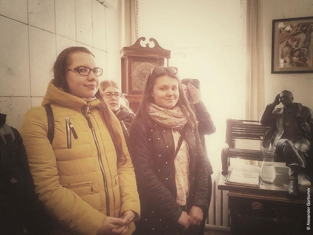 Открытие выставки иллюстраций Arina Gheorghita театр-музей «Булгаковский дом»