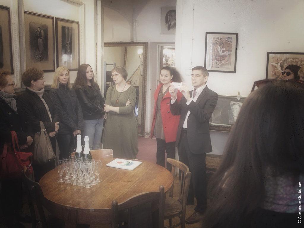 Открытие выставки иллюстраций Арина Георгита театр-музей «Булгаковский дом»