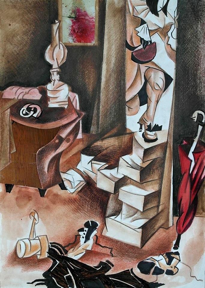 Явление героя Маргарита в комнате Мастера