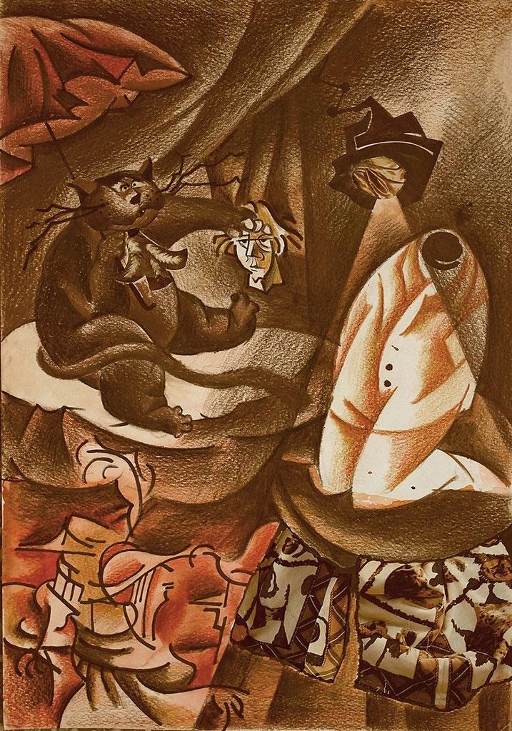 Черная магия и ее разоблачение Голова Жоржа Бенгальского