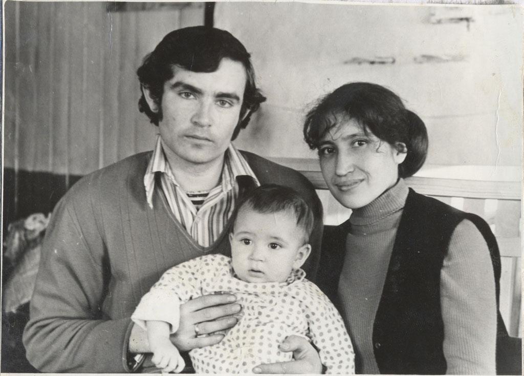 Портрет с родителями