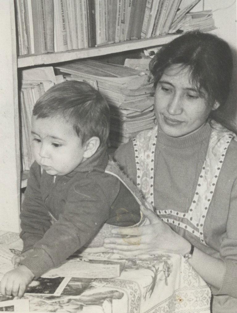 С любимой Мамой