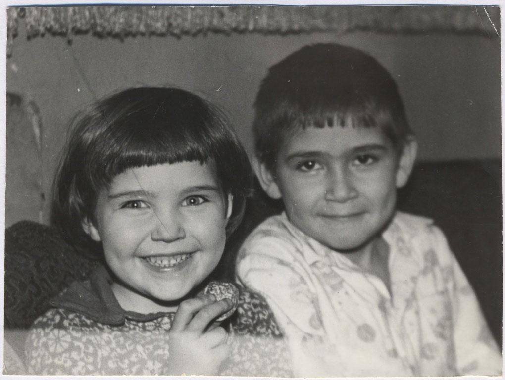Портрет с сестрой