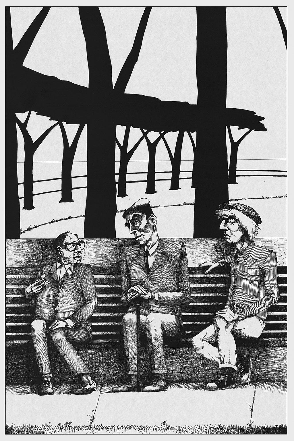 Иллюстрация Мастер и Маргарита Чарли Стоун 1