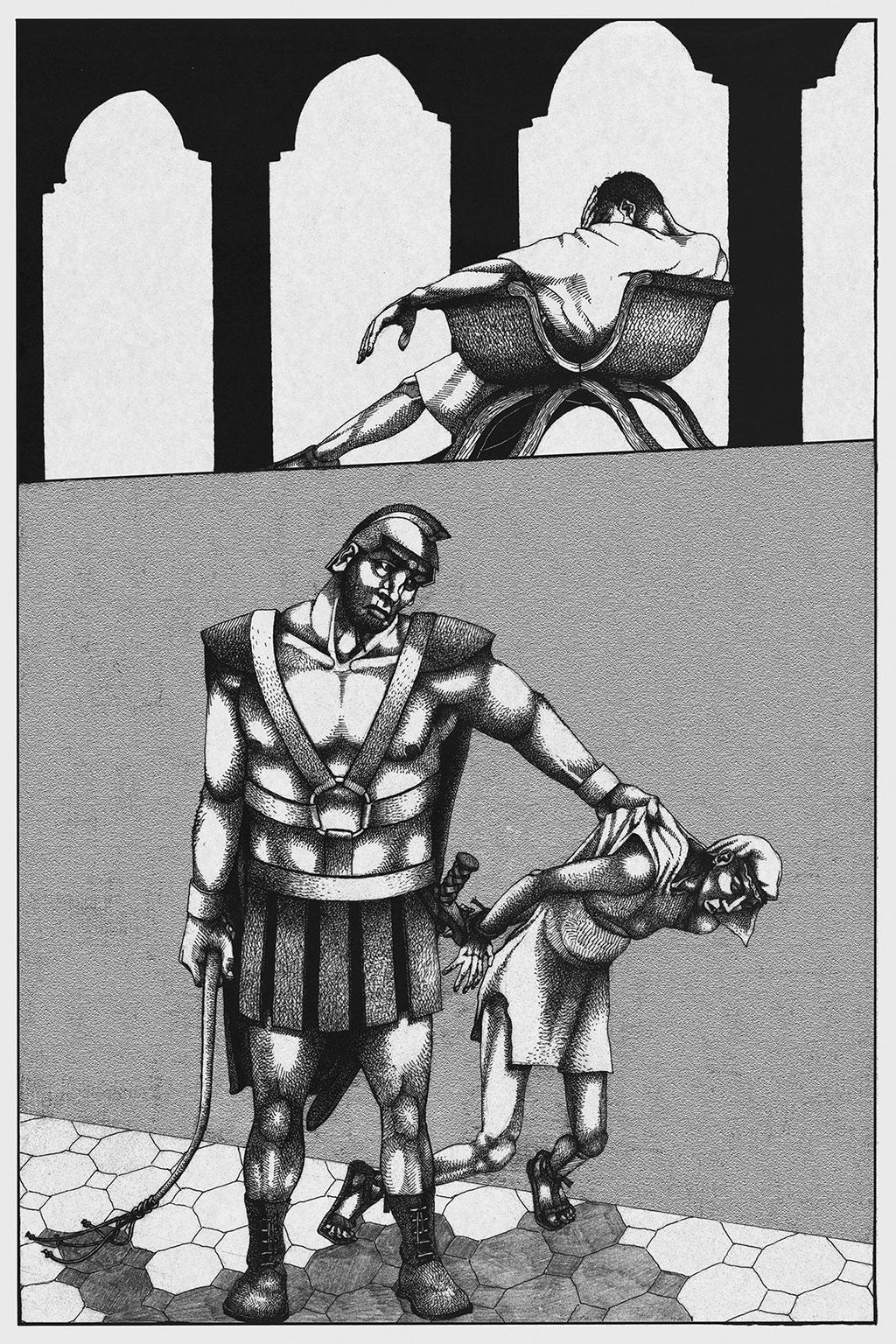 Иллюстрация Мастер и Маргарита Чарли Стоун 2