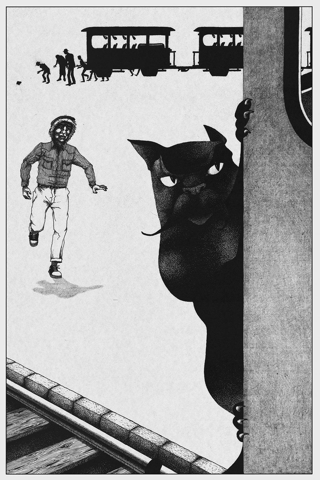 Иллюстрация Мастер и Маргарита Чарли Стоун 3