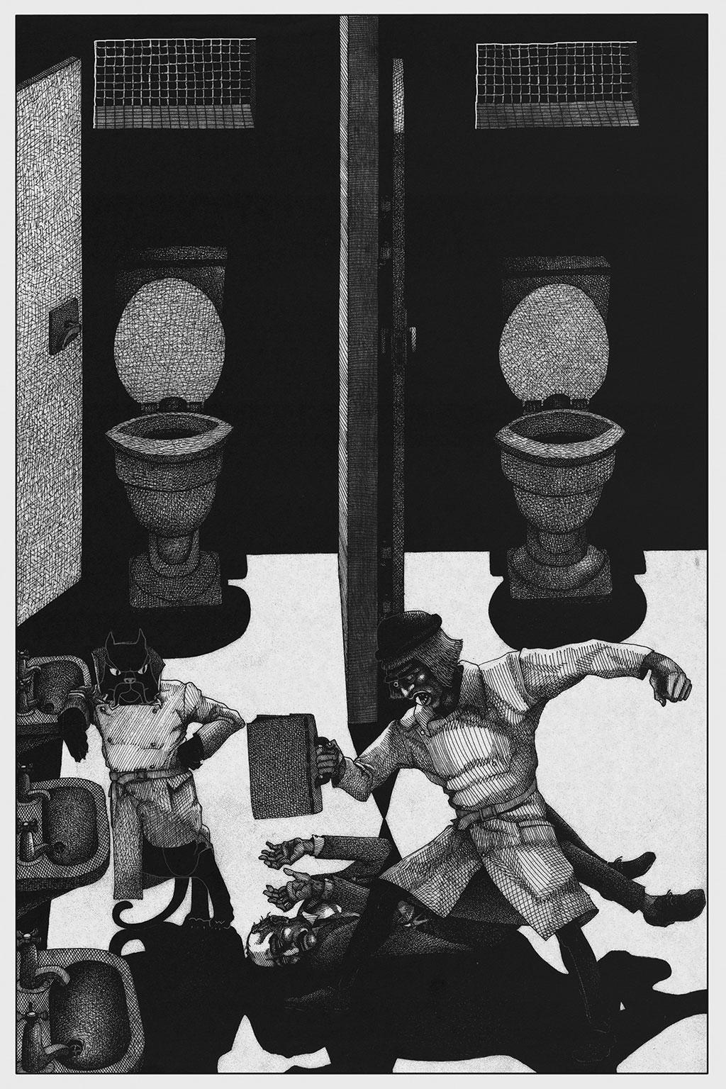 Иллюстрация Мастер и Маргарита Чарли Стоун 6