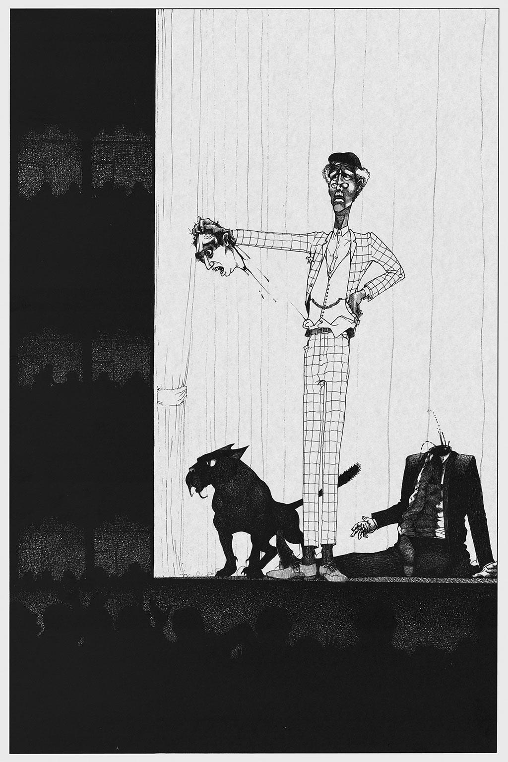 Иллюстрация Мастер и Маргарита Чарли Стоун 7