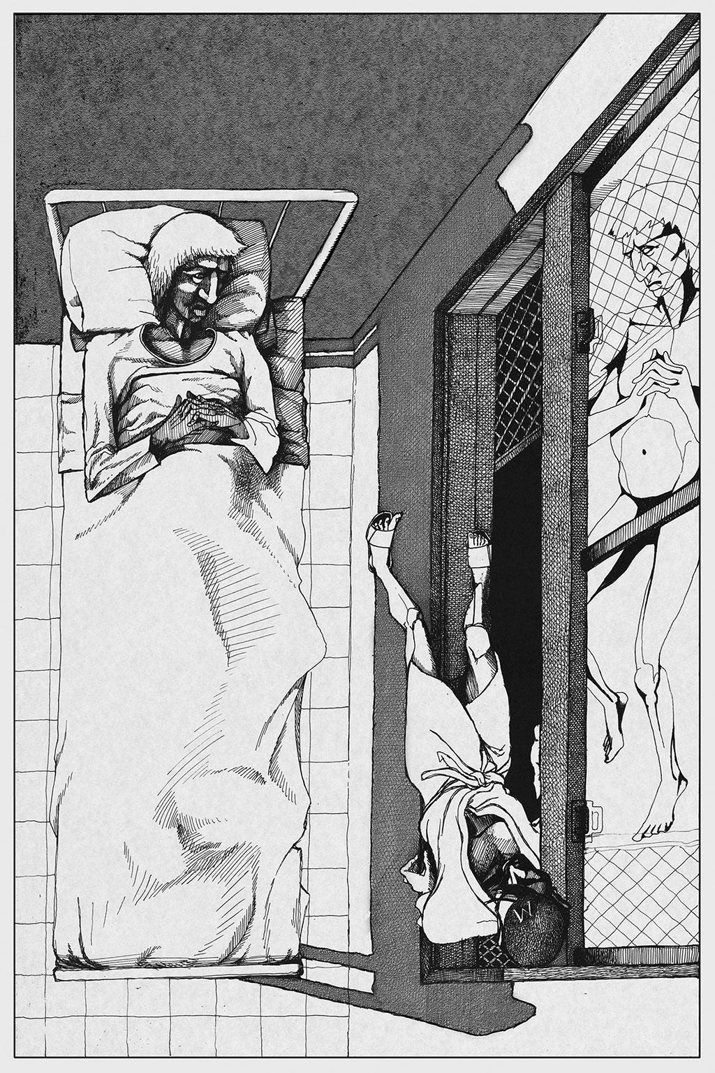 Иллюстрация Мастер и Маргарита Чарли Стоун 8