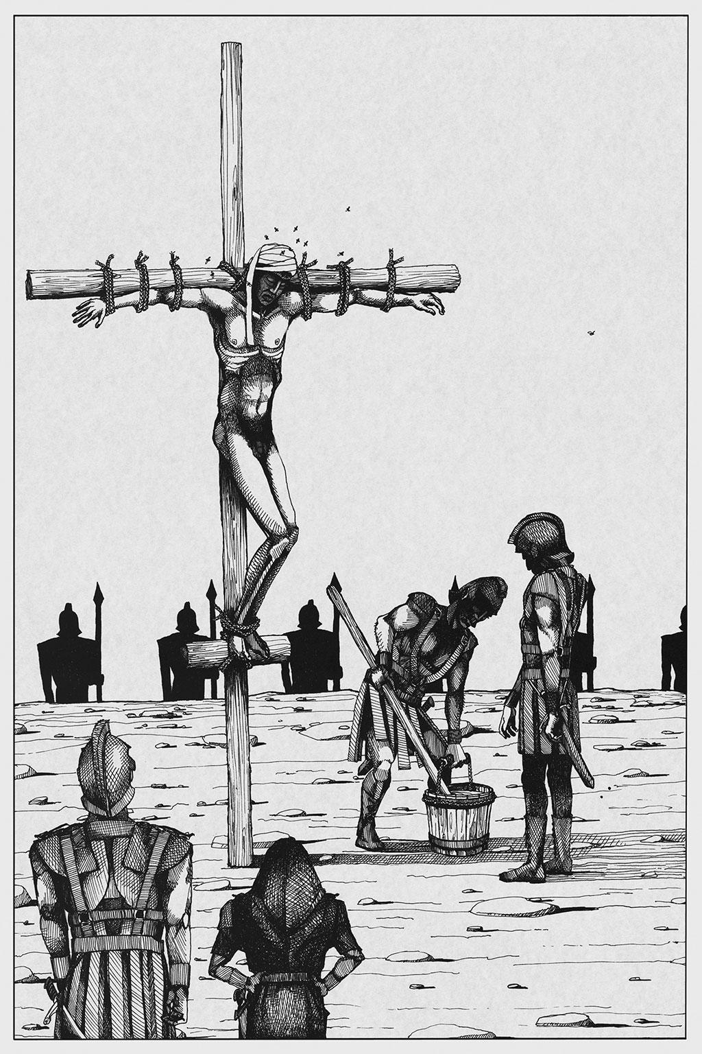 Иллюстрация Мастер и Маргарита Чарли Стоун 9
