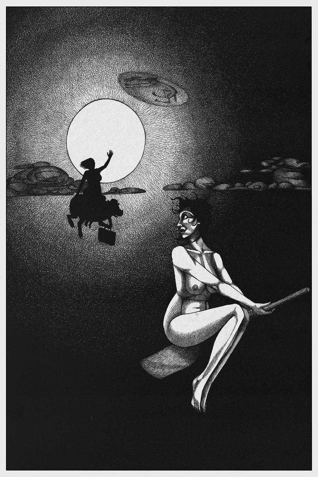 Иллюстрация Мастер и Маргарита Чарли Стоун 12