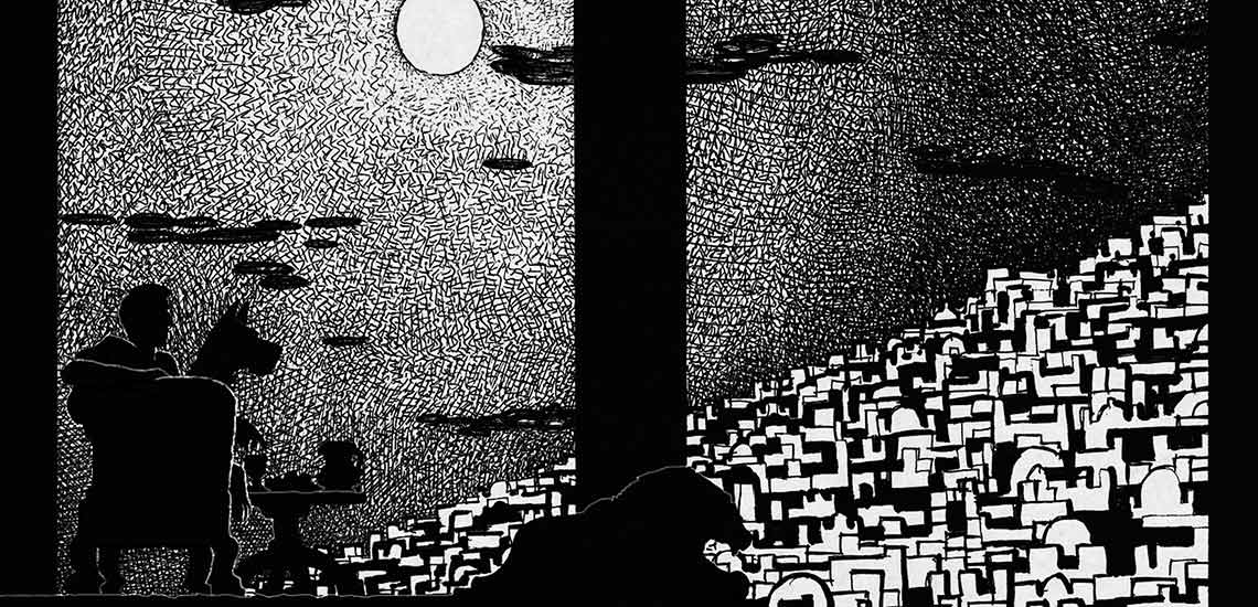 Иллюстрации Чарли Стоун к роману Мастер и Маргарита