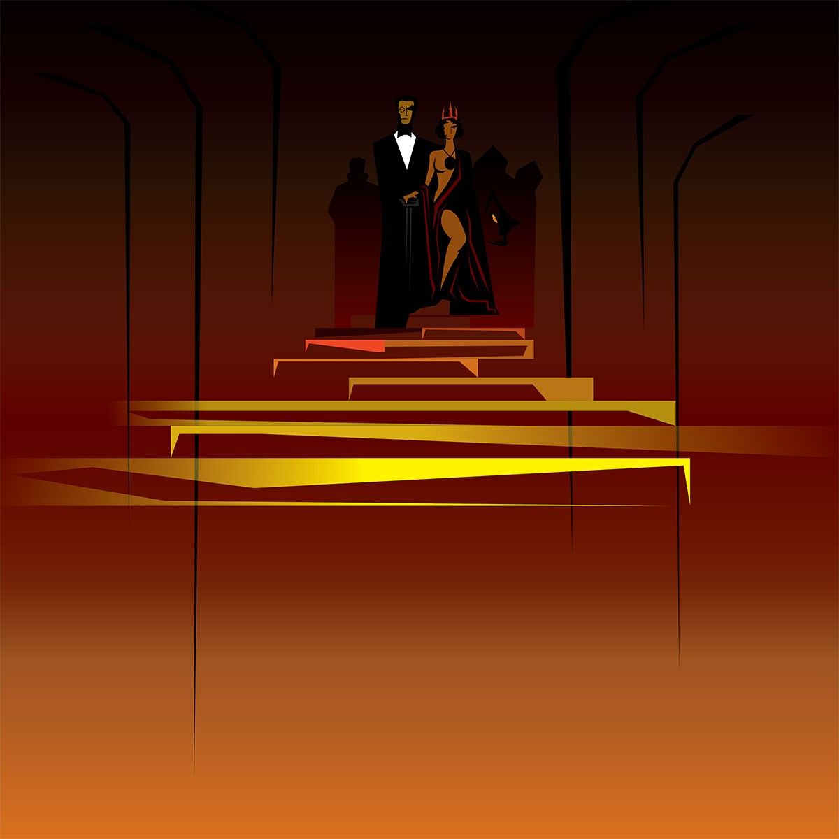 Великий бал у сатаны иллюстрация Дария Асадуллаева