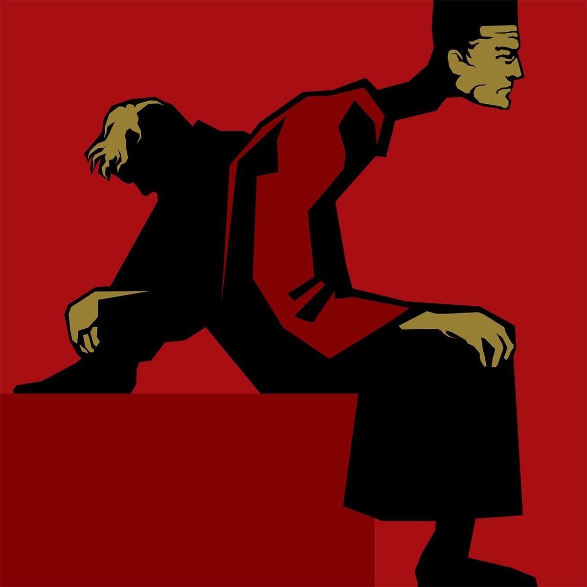 Явление героя иллюстрация Дария Асадуллаева