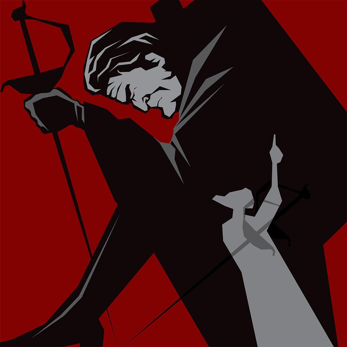Воланд и Левий Матвей иллюстрация Дария Асадуллаева