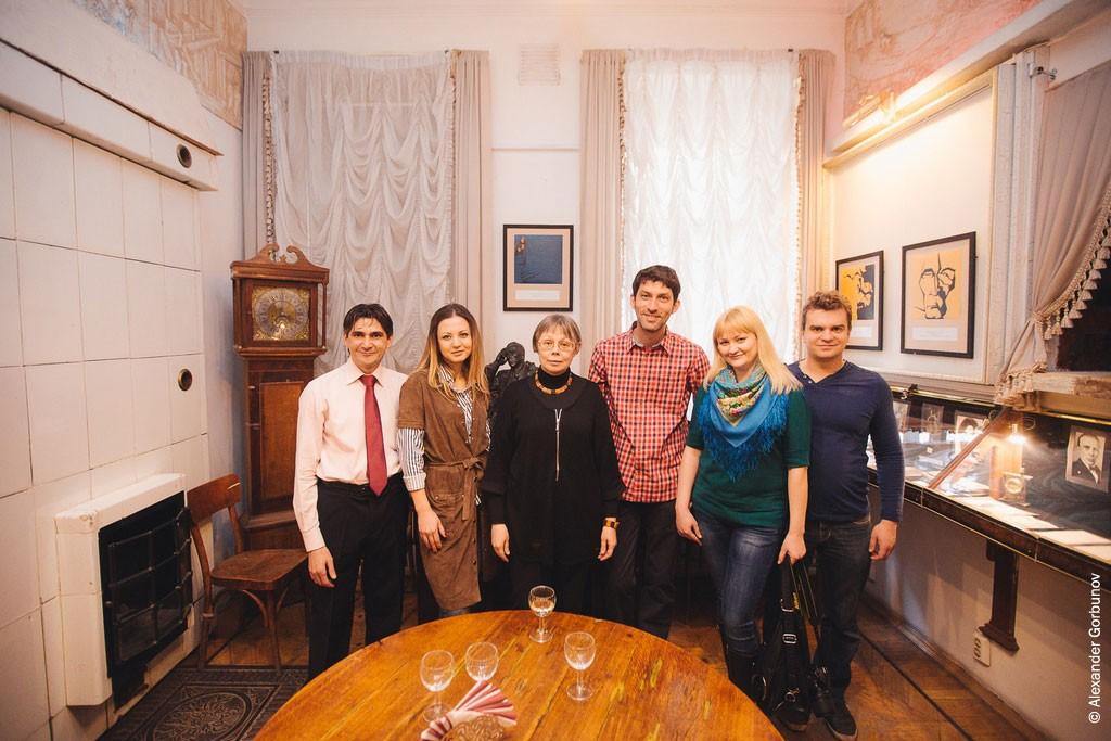 Фотография на память Открытие выставки Булгаковский дом