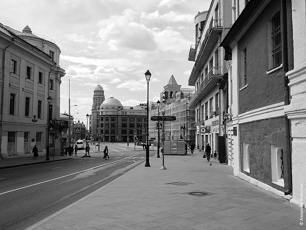 Улица Маросейка Москва