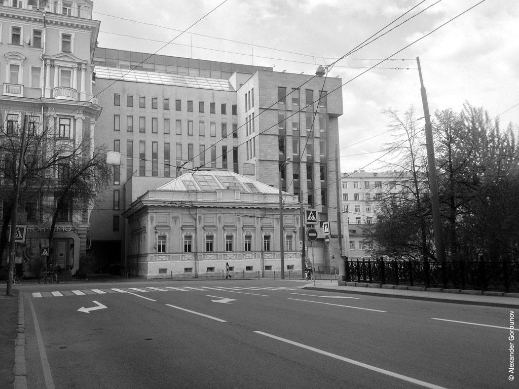 Страстной бульвар Москва