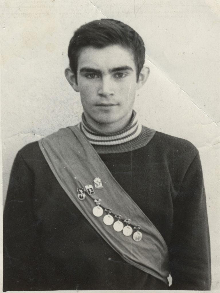 Отец спортивные награды Горбунов Вячеслав Егорович