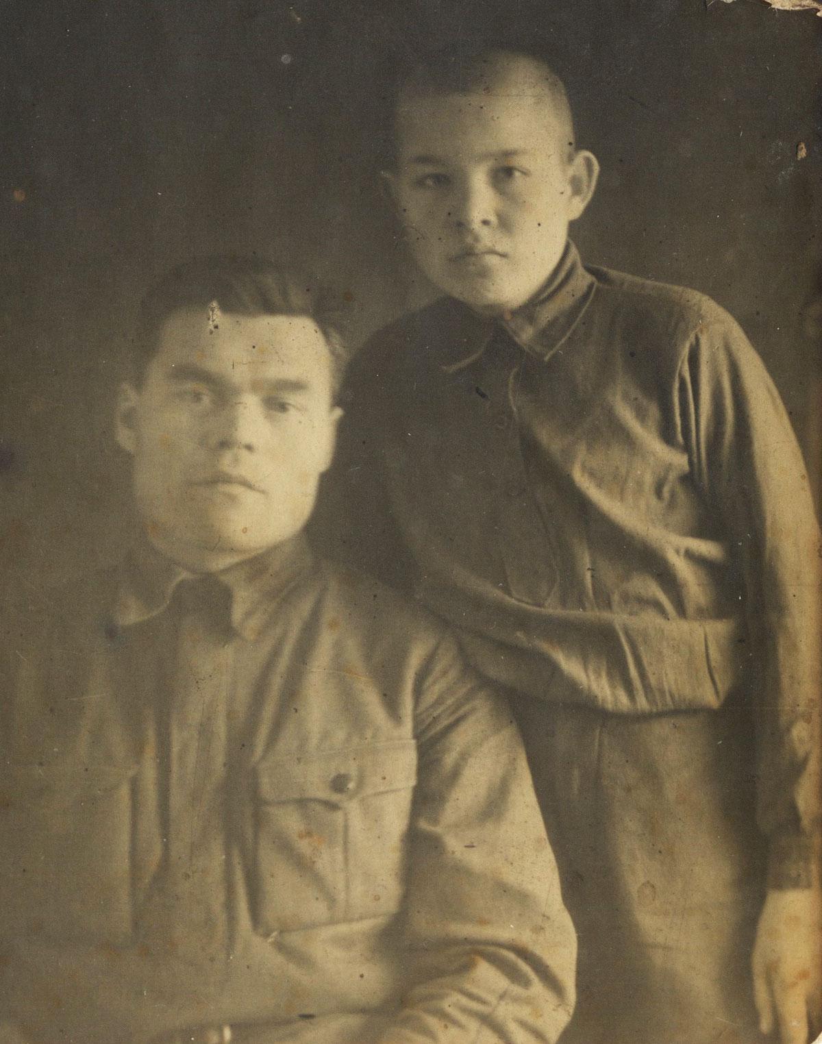Дед и дядяСтёпа