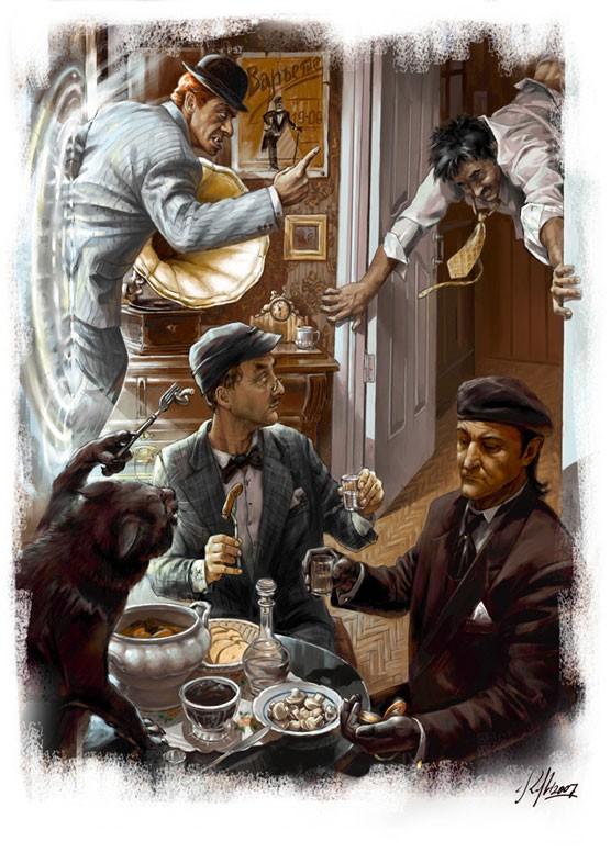Нехорошая квартирка Иллюстрация Николая Королева