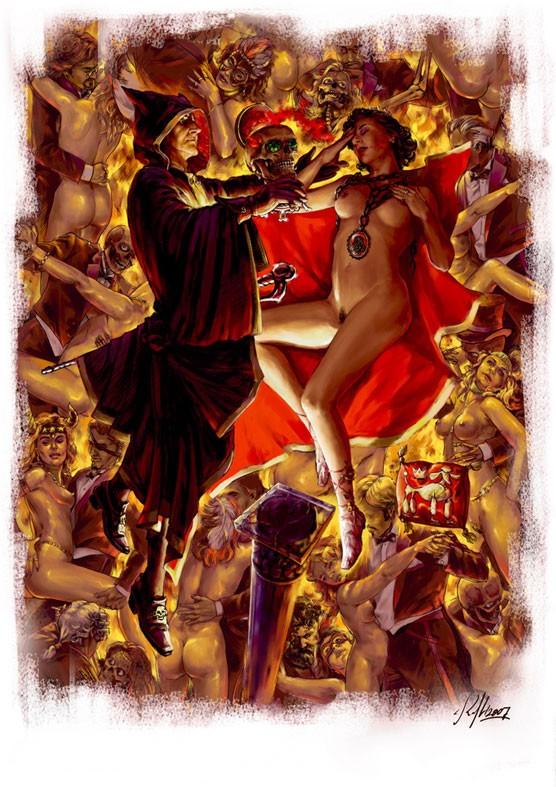 Великий бал у сатаны Иллюстрация Николая Королева