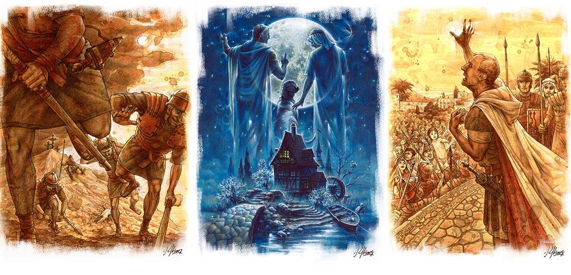 Иллюстрации Николая Королёва к роману «Мастер и Маргарита»