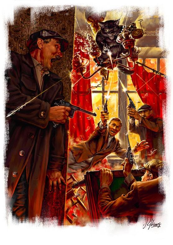 Конец квартиры № 50 Иллюстрация Николая Королева