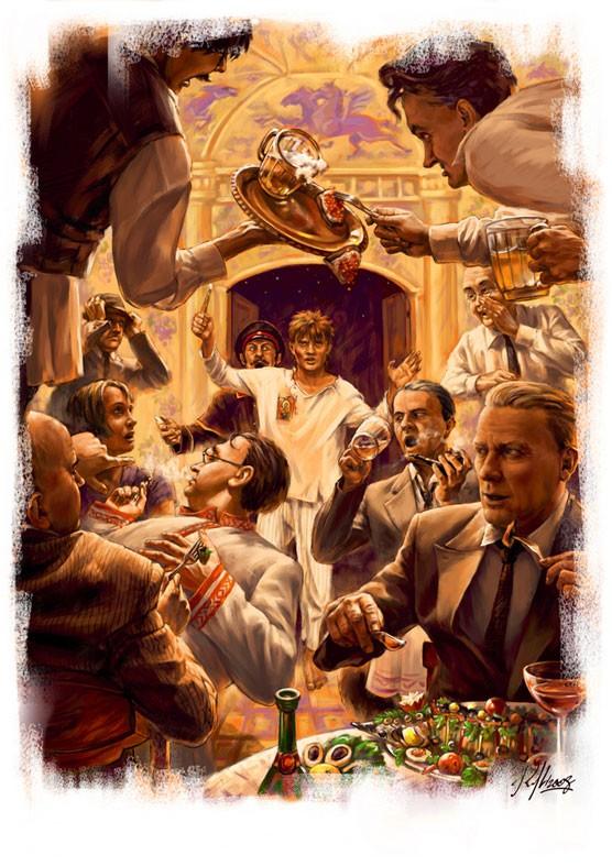 Было дело в Грибоедове Иллюстрация Николая Королева