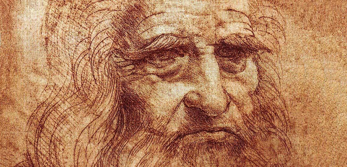 Леонардо да Винчи портрет