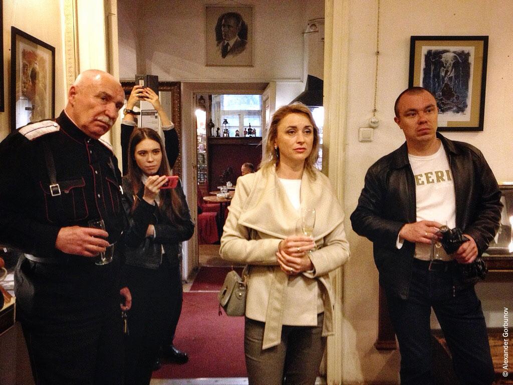 На открытии выставки Николая Королёва