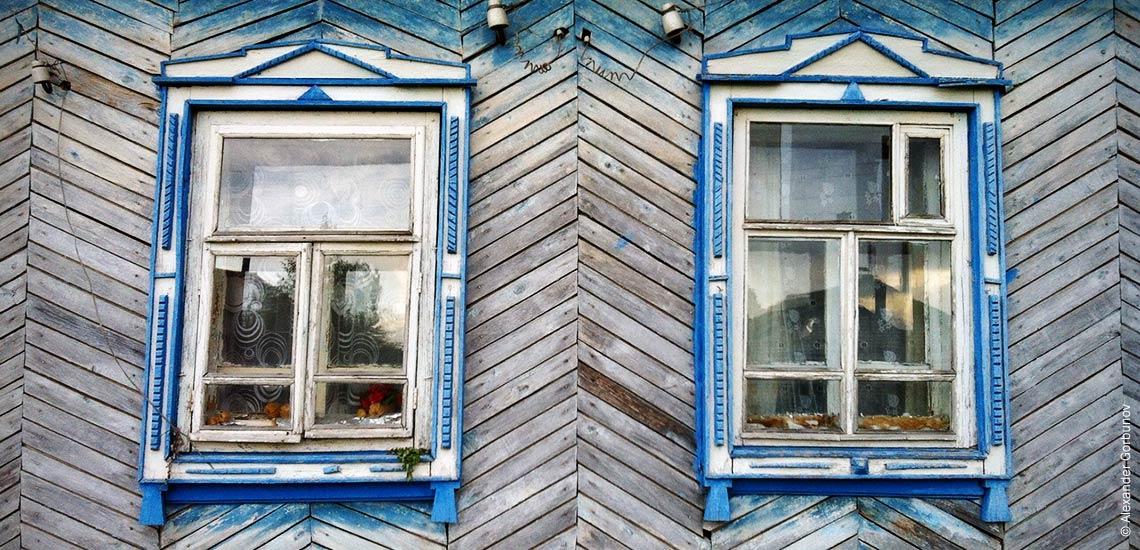 Русская Сорма Окна дома