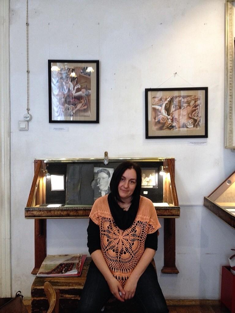 Арина Георгита в Булгаковском доме